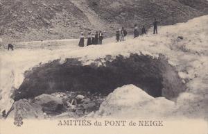 GAVARNIE, Hautes Pyrenees, France, 1900-1910's; Amities Du Pont De Neige
