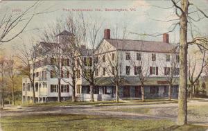 BENNINGTON , Vermont , 1900-10s; The Wallomsac Inn
