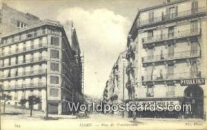 Alger Algeria, Africa, Rue de Constantine  Rue de Constantine