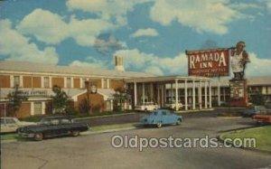 Ramada Inn, Dallas, Texas, USA Motel Hotel Postal used unknown light crease t...