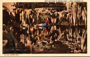 Virginia Caverns Of Luray Reflections In Dream Lake