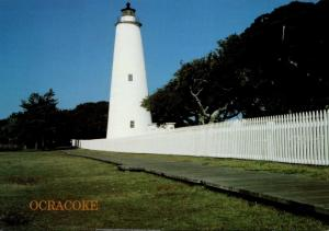 North Carolina Ocracoke Lighthouse Greetings From The Outer Banks