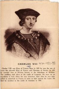CPA Charles VIII Royalty Nobelty (314824)