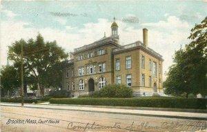 MA, Brockton, Massachusetts, Court House, Hugh C. Leighton No. 2970