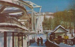 Canada Quebec Mont Tremblant South Side Chair Lift