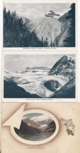 Illecillewaet Yoho Canadian Glacier Iceberg 3x Old Postcard s