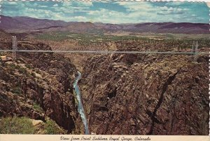 View From Point Sublime Royal Gorge Colorado 1972