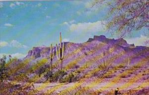 Arizona Superstition Mountain East Of Mesa