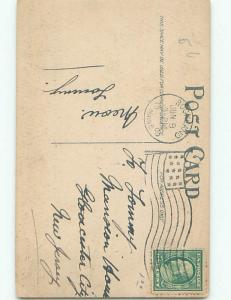 Divided-Back PRETTY WOMAN Risque Interest Postcard AA7769