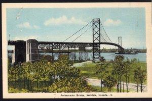 Ontario ~ WINDSOR Ambassador Bridge PECO - White Border