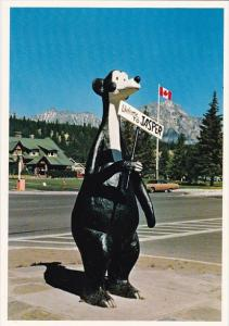 Canada Situated Across From The Jasper National Park Administration Building ...
