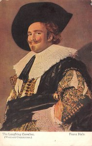 The Laughing Cavalier Wallace Collection Postcard Unused
