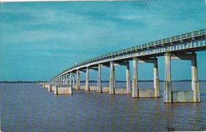South Carolina Bridge Across Santee River and Lake Marion 1960
