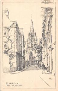St Mary's Oriel St Oxford