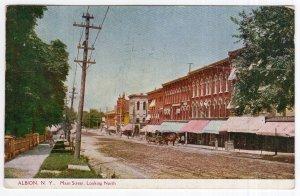Albion, N.Y., Main Street, Looking North