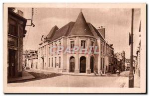 Old Postcard Montlucon Allier New Chamber of Commerce