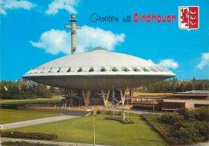Netherlands Postcard groeten uit Eindhoven crest