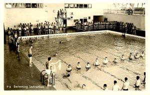 ID - Farragut Naval Training Sta. - Swimming Instruction  *RPPC
