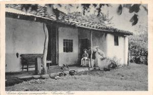 B70/ Costa Rica Central America C.A. Foreign Postcard c1910 Typical Home