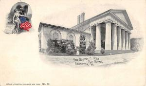 Arlington Virginia Lee Old Home Pioneer Private Mail Antique Postcard K42031