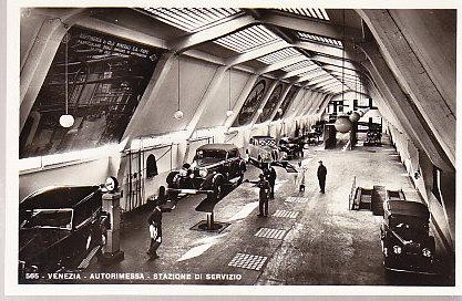 Italy Venice - Automobile Service Station Interior RP