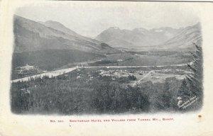 BANFF , Alberta , Canada , 1900-10s ; Sanitarium Hotel & Village