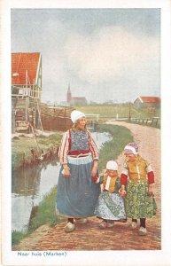 Lot 61 netherlands types folklore costume home children marken