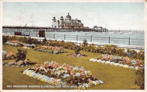 New Promenade Gardens and Central Pier Morecambe 1932