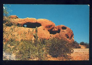 Phoenix, Arizona/AZ Postcard, Hole-In-The-Rock, Papago Park, Botanical Gardens