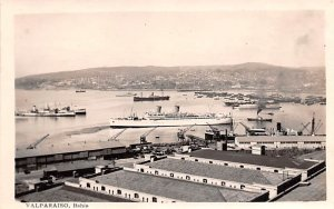 Waterfront and Bay Valparaiso Republic of Chile Unused