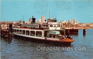 Coronado Ferry San Diego, CA USA Ship 1969