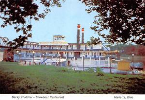 Becky Thatcher Showboat - Marietta, Ohio