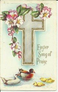 Easter Song of Praise  ----EMBOSSED