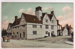 The Old Falcon Inn Bidford Warwickshire UK 1910s postcard
