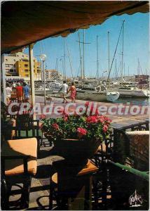 Postcard Modern Languedoc Cap d'Agde Echappee sue the port