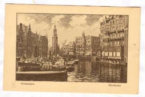 Amsterdam , Munttoren , Netherlands, 00-10s