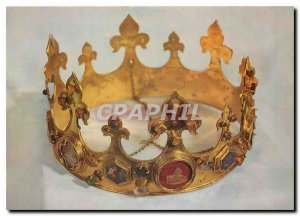 Modern Postcard Amiens Somme Cathedral Crown of the Paraclete