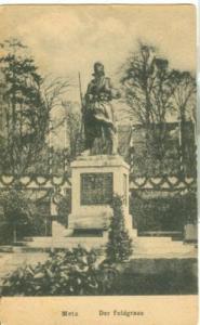 France, Metz, Der Feldgraue, early 1900s unused Postcard CPA