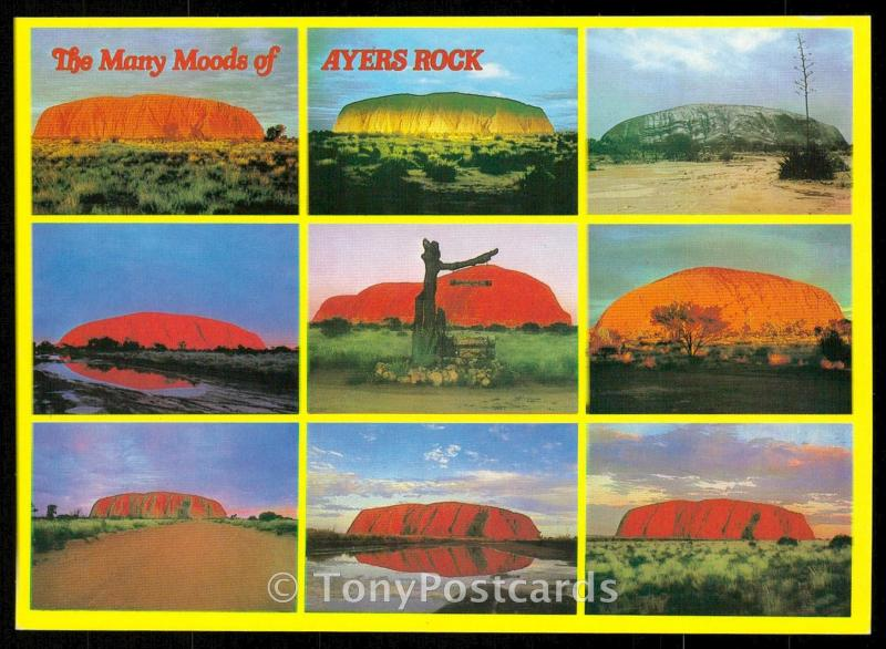 The Many Moods of Ayers Rock