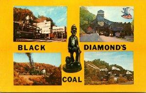 West Virginia Coal Mines Black Diamonds