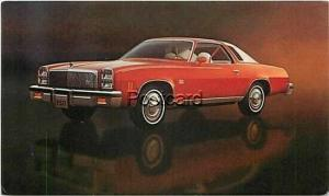 Advertising, 1977 Malibu Classic Landau Coupe, Chevrolet
