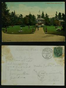 Prospect Park-Oshawa Ontario duplex to Bowmanville 1909 fair