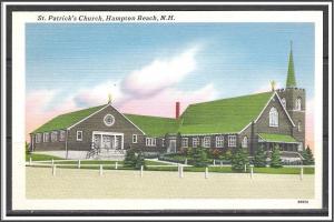 New Hampshire, Hampton Beach St Patrick's Church - [NH-178]