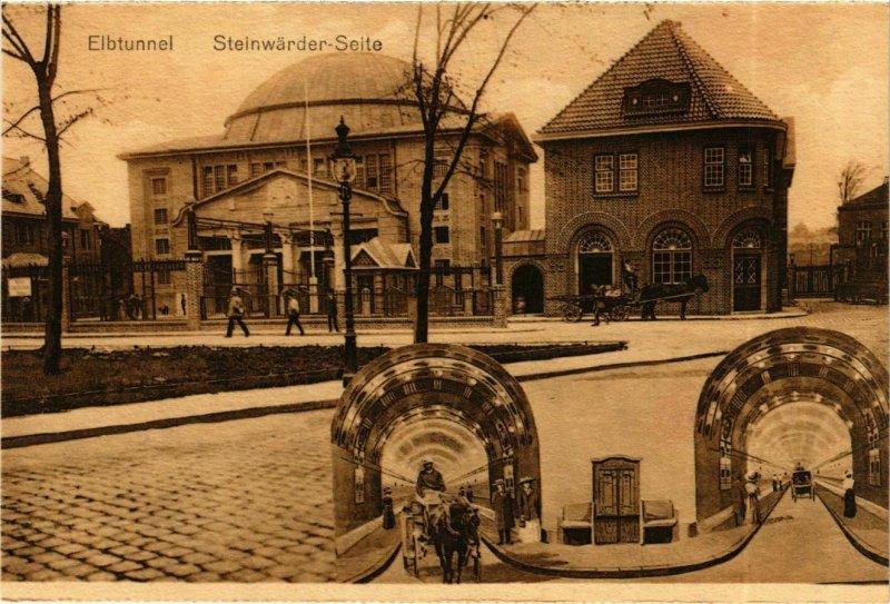 CPA AK Hamburg- Steinwarder Seite GERMANY (902744)