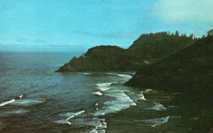 Devil's Elbow State Park, OR, Heceta Head Lighthouse, Vintage Postcard f2766