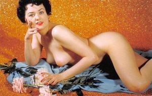 Nude Post Card Reproduction Nude Unused