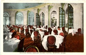 MA - Boston. Copley Plaza Hotel, Dining Room