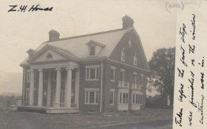 RP: WILLIAMSTOWN, Massachusetts, 1900-10s; House before front steps added
