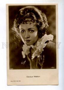 243527 Gladys WALTON American FILM STAGE actress Vintage PHOTO