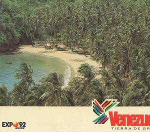Postal 62053 : Expo 92 Sevilla. Venezuela Tierra de Gracia. Playa Medina Edo....